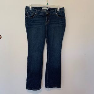 TORRID RELAXED BOOT CUT JEANS SIZE 12